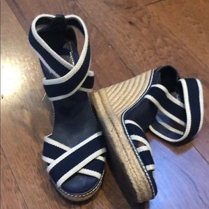 AUTHENTIC TORY BURCH WEDGES